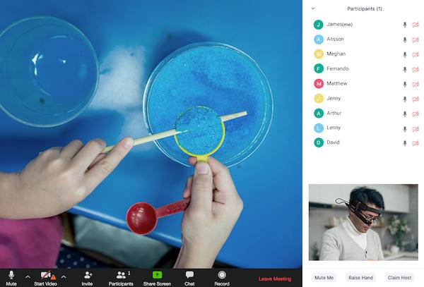 Tele-teaching webinar image